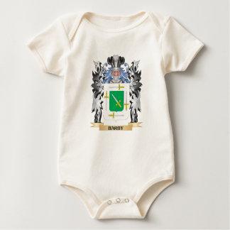 Escudo de armas de Barby - escudo de la familia Traje De Bebé