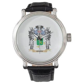 Escudo de armas de Barby - escudo de la familia Relojes