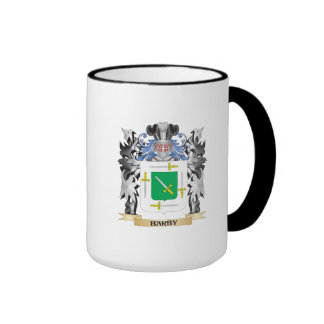 Escudo de armas de Barby - escudo de la familia Taza A Dos Colores