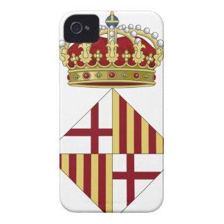 Escudo de armas de Barcelona (España) iPhone 4 Protector