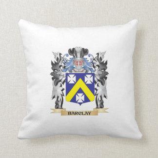 Escudo de armas de Barclay - escudo de la familia Cojín Decorativo