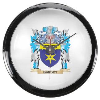 Escudo de armas de Bardet Reloj Aquavista
