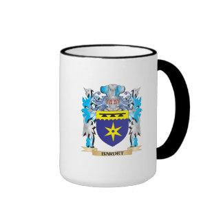 Escudo de armas de Bardet Taza A Dos Colores