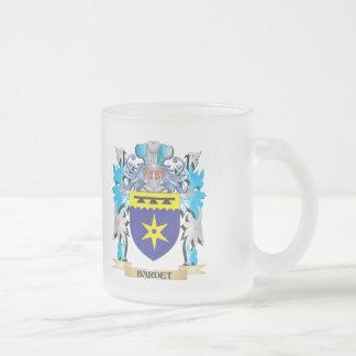 Escudo de armas de Bardet Taza Cristal Mate