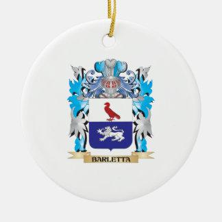 Escudo de armas de Barletta Adorno Redondo De Cerámica