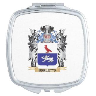 Escudo de armas de Barletta - escudo de la familia Espejo Maquillaje