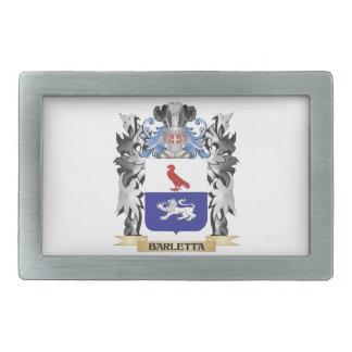 Escudo de armas de Barletta - escudo de la familia Hebilla De Cinturon Rectangular