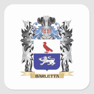 Escudo de armas de Barletta - escudo de la familia Pegatina Cuadrada