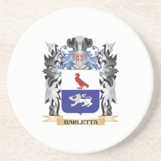 Escudo de armas de Barletta - escudo de la familia Posavasos De Arenisca