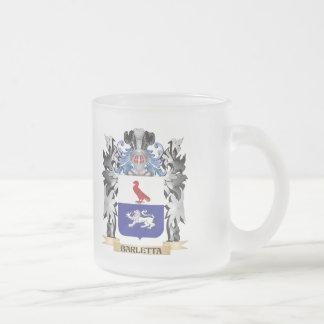 Escudo de armas de Barletta - escudo de la familia Taza Cristal Mate