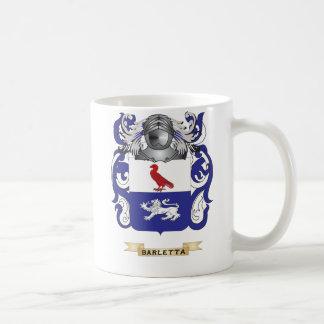 Escudo de armas de Barletta (escudo de la familia) Taza Básica Blanca