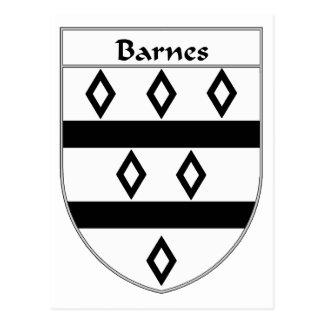 Escudo de armas de Barnes escudo de la familia