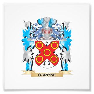 Escudo de armas de Barone Foto