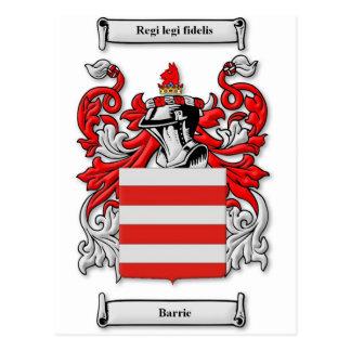 Escudo de armas de Barrie Postal