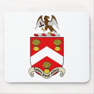 Escudo de armas de Barron Alfombrilla De Ratones