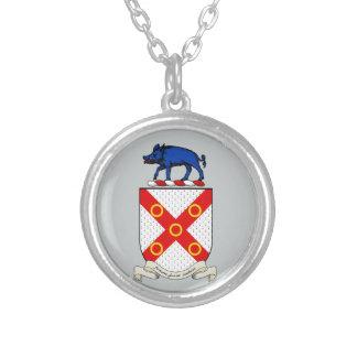 Escudo de armas de Barron Colgante Redondo