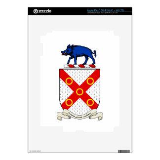 Escudo de armas de Barron iPad 3 Pegatina Skin