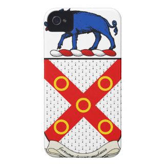 Escudo de armas de Barron iPhone 4 Case-Mate Cobertura