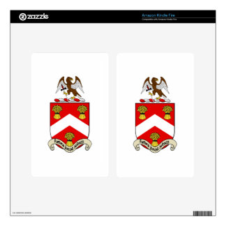 Escudo de armas de Barron Kindle Fire Skins