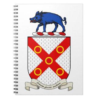 Escudo de armas de Barron Libreta
