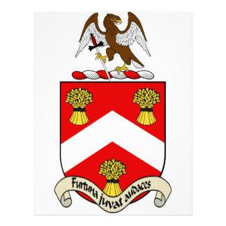 Escudo de armas de Barron Plantilla De Membrete