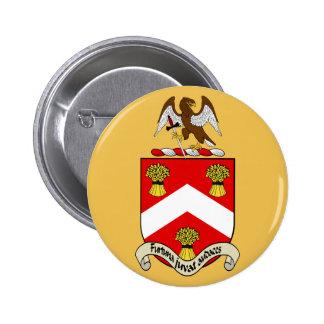 Escudo de armas de Barron Pin Redondo De 2 Pulgadas
