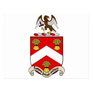 Escudo de armas de Barron Postales