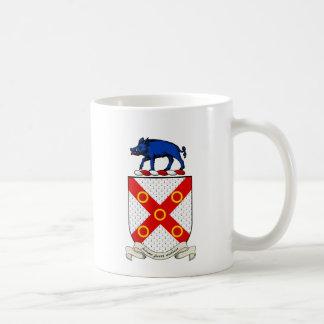 Escudo de armas de Barron Taza De Café