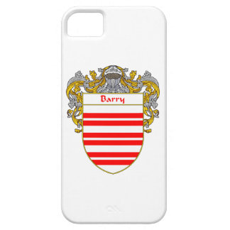Escudo de armas de Barry/escudo de la familia iPhone 5 Funda