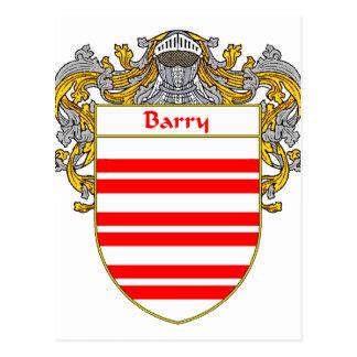 Escudo de armas de Barry/escudo de la familia Postal