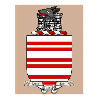Escudo de armas de Barry Tarjetas Postales