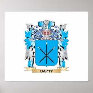 Escudo de armas de Barty Póster