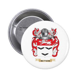 Escudo de armas de Batson (escudo de la familia) Pin