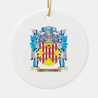 Escudo de armas de Battersby Ornamento Para Reyes Magos