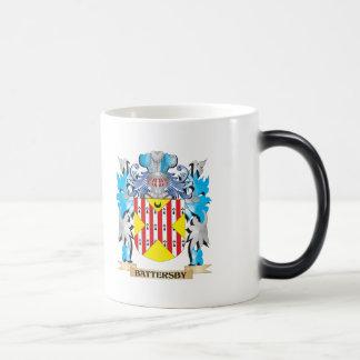 Escudo de armas de Battersby Taza De Café