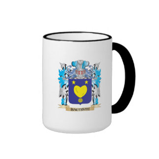 Escudo de armas de Bautiste Taza De Café