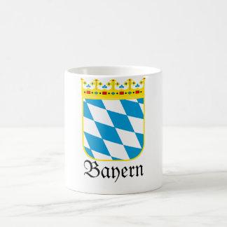 Escudo de armas de Baviera de Baviera Wappen Taza