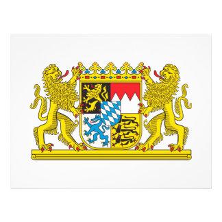 Escudo de armas de Baviera Tarjeta Publicitaria