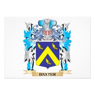 Escudo de armas de Baxter