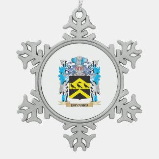 Escudo de armas de Baynard Adorno De Peltre En Forma De Copo De Nieve