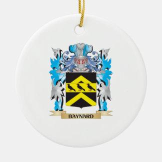 Escudo de armas de Baynard Adorno Redondo De Cerámica