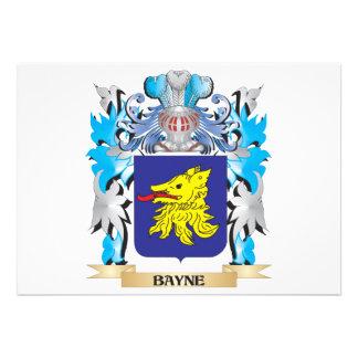 Escudo de armas de Bayne