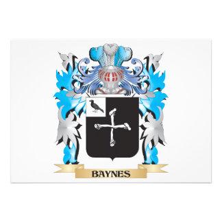 Escudo de armas de Baynes