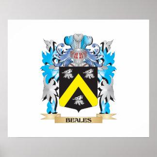 Escudo de armas de Beales Impresiones