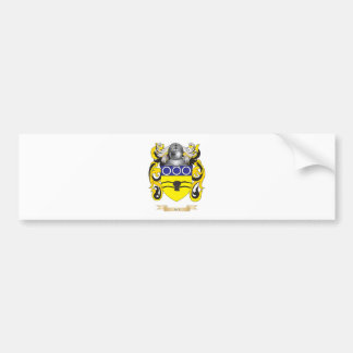 Escudo de armas de Beck escudo de la familia Etiqueta De Parachoque