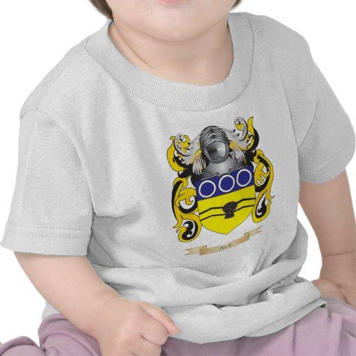 Escudo de armas de Beck (escudo de la familia) Camisetas
