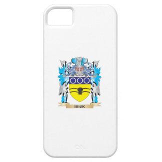 Escudo de armas de Beck iPhone 5 Case-Mate Protectores