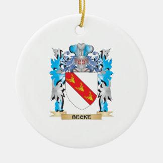 Escudo de armas de Becke Ornamente De Reyes