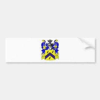 Escudo de armas de Becker (NLD) Pegatina Para Auto