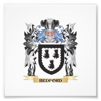 Escudo de armas de Bedford - escudo de la familia Fotografía